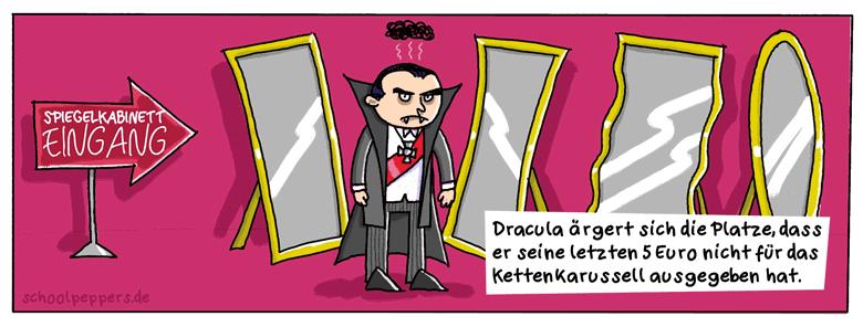 Dracula macht was falsch.