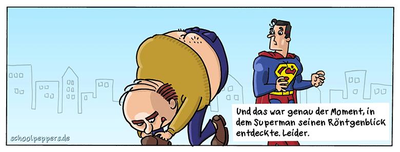 Fast so schlimm wie Kryptonit.