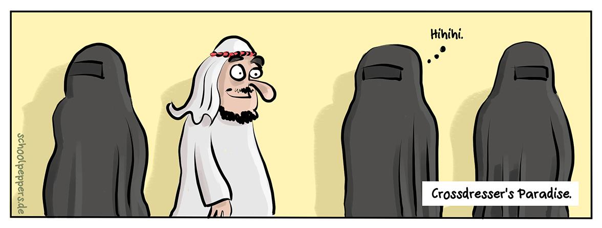 Islam – die Religion der tausend Möglichkeiten.