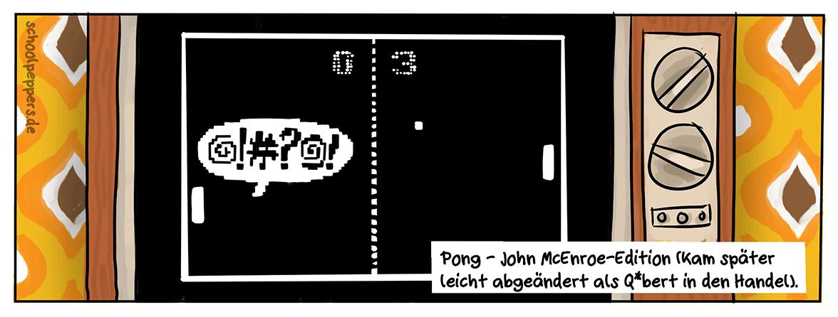 Atari, Pong und McEnroe - eine brisante Mischung aus den 70ern.