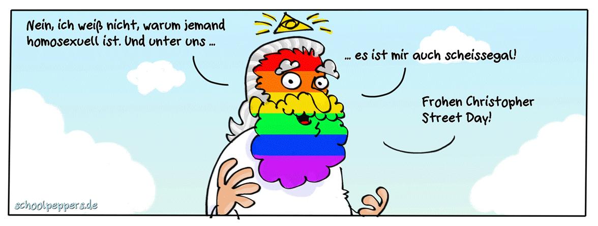 """Und Gott sprach: """"Mir Egal!"""""""