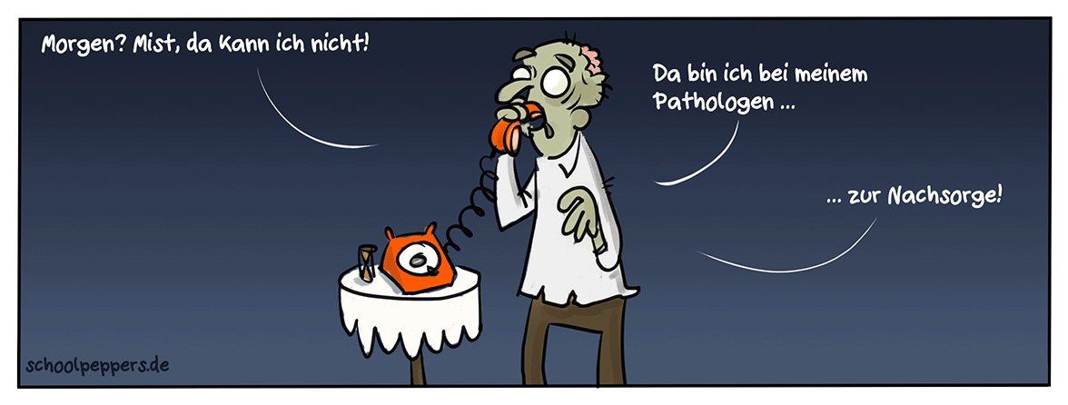 Zombie-Probleme.