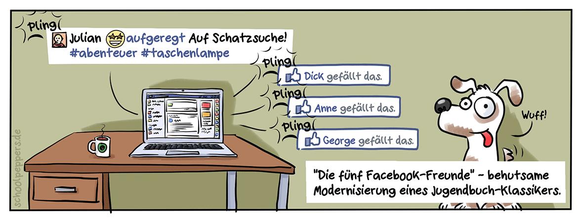Freunde fürs (Online-) Leben.