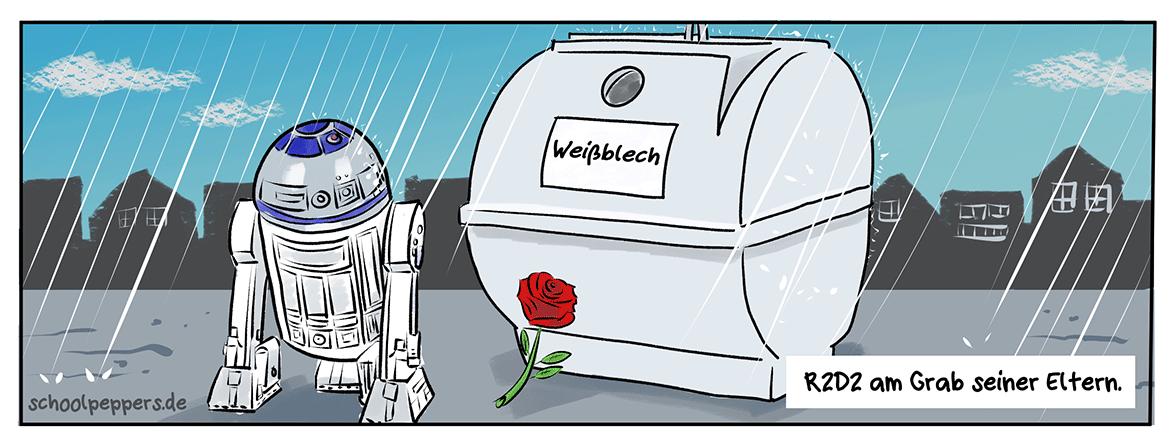 Weinen Roboter Tränen aus Öl?