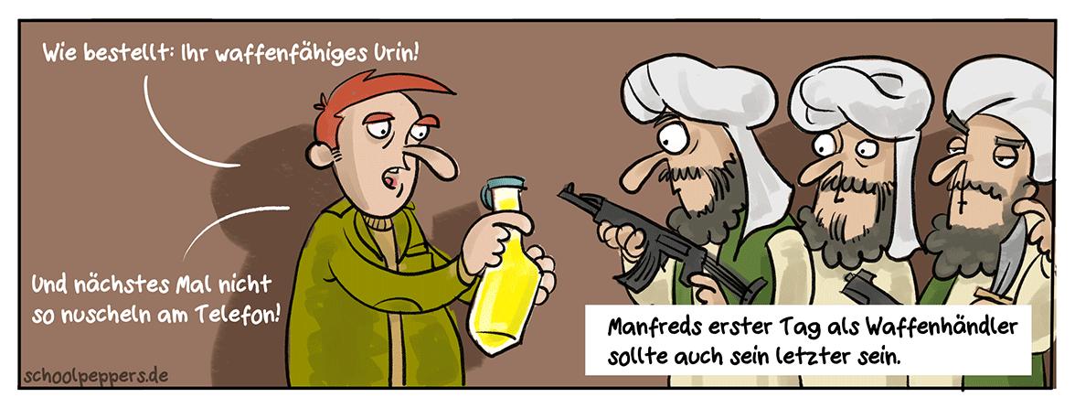 Harn-Waffe.
