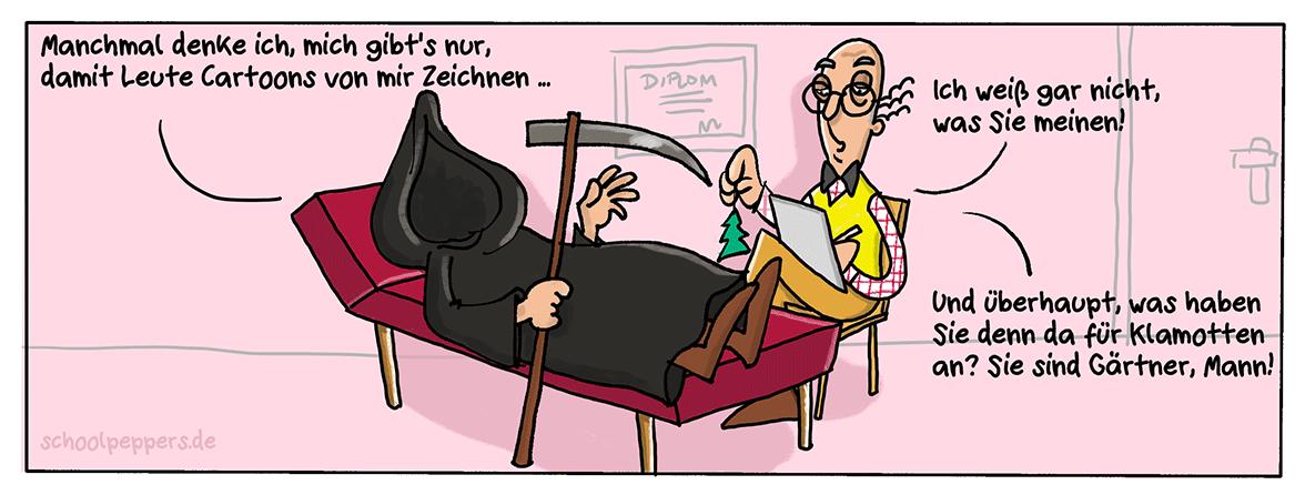 Tod der Psychoanalyse.