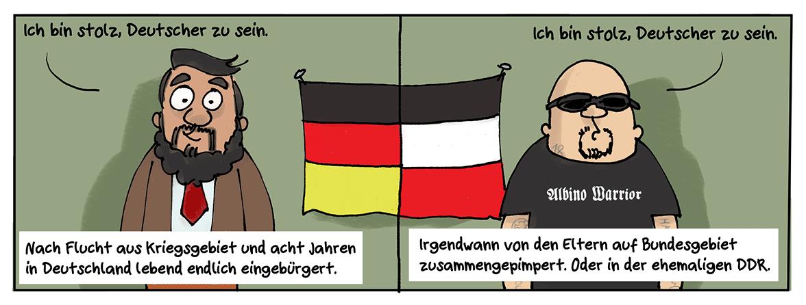 Deutsch-Deutsche Verhältnisse.