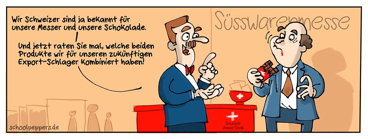 Lecker Schoki!