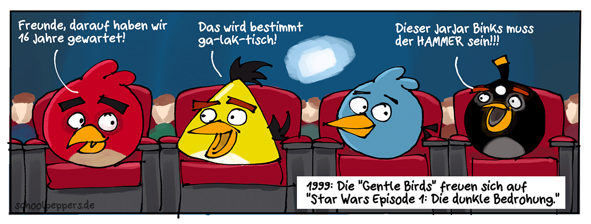 Star Wars Episode 1: Die dunkle Bedrohung! Vor allem für's Gemüt!