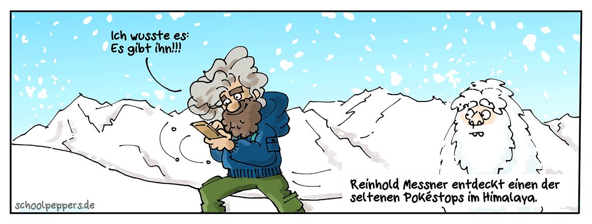 Neulich im Himalaya ...