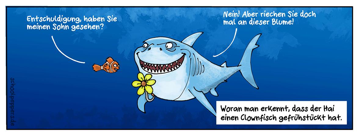 Findet Nemo.