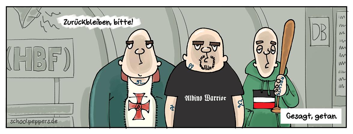 Gehorsamkeit - eine deutsche Tugend.