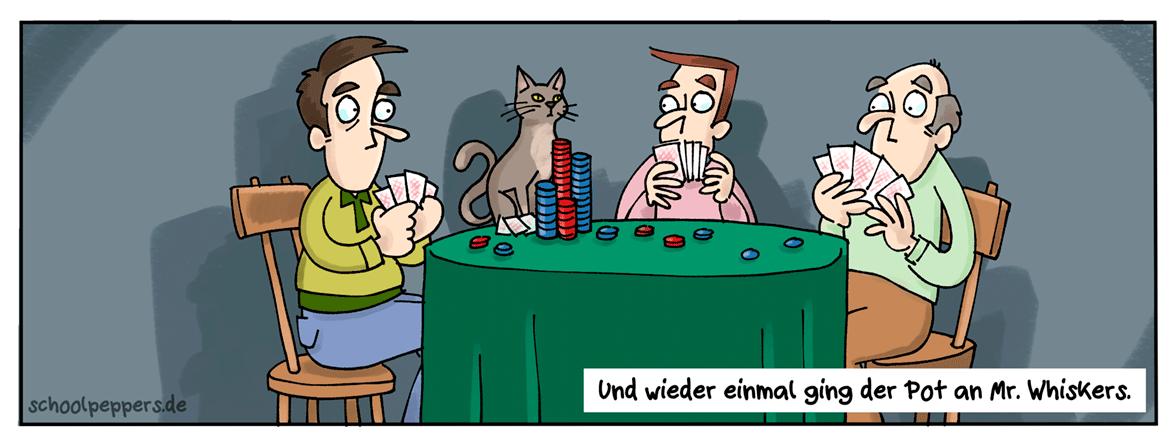 Von Mäusen und Menschen. Und Katzen.