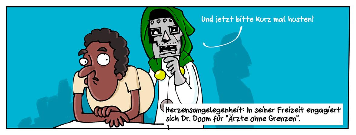 Dr. Dooms – Arzt aus Leidenschaft.