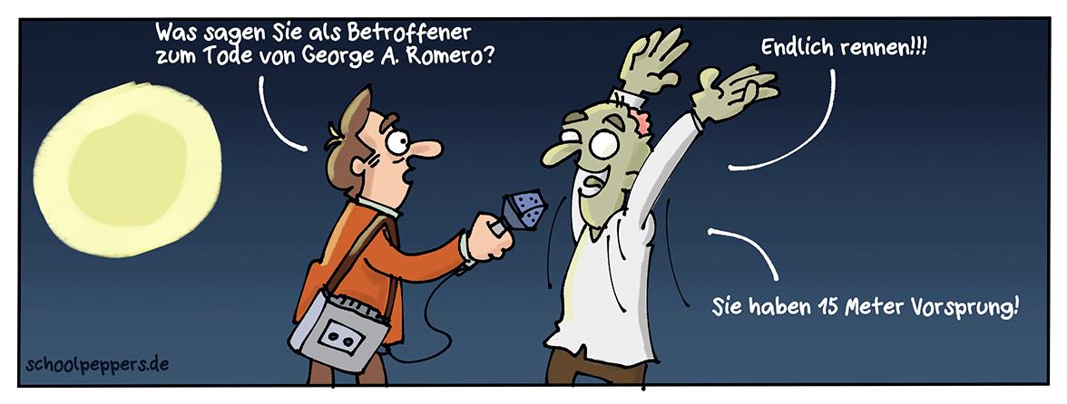 R.I.P George A. Romero!