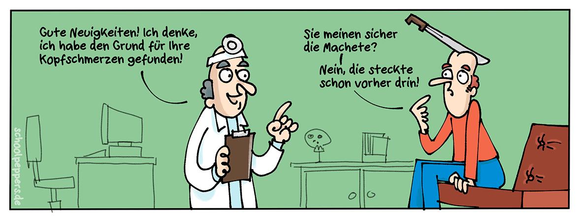 Ein Fall für den Facharzt.