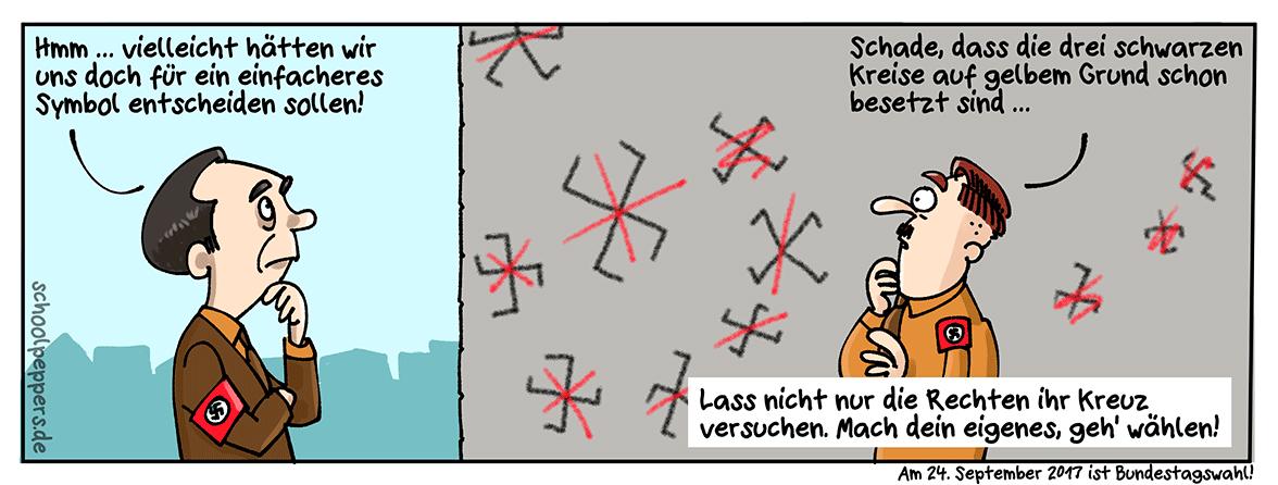 Bundestagswahl 2017 – mach dein Kreuz!