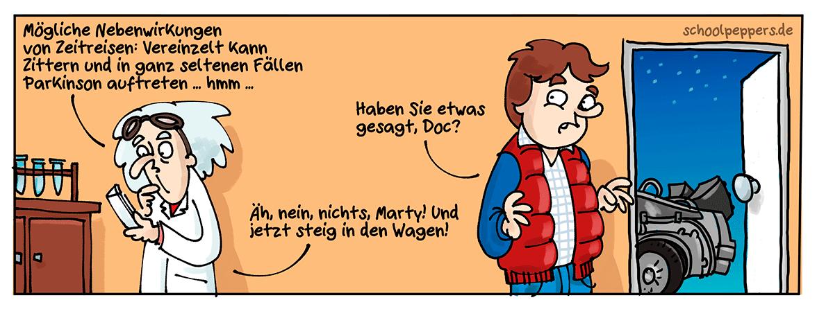 Der Flux-Kompensator und seine Nebenwirkungen.