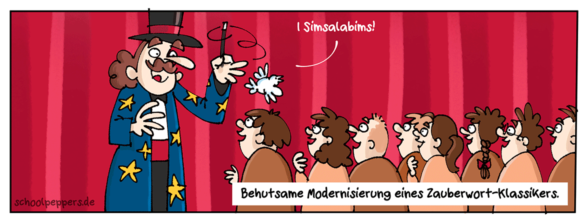 I bims 1 neuer Cartoon.